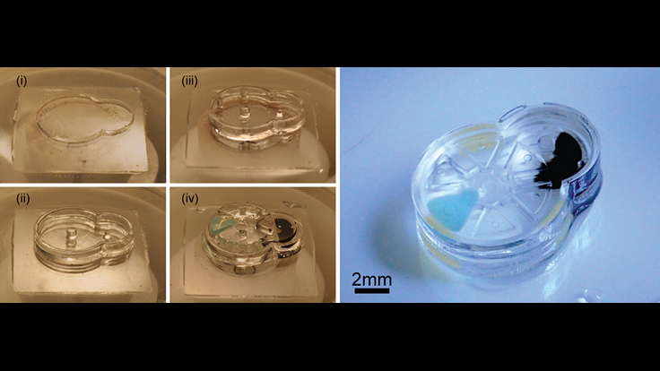 Complex medical devices from implantable microrobots