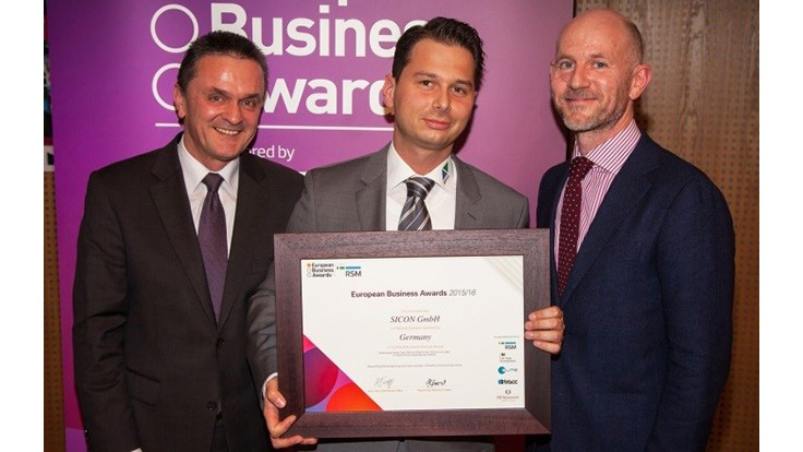 Sicon wins European Business Award