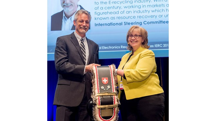 Sims Recycling Solutions president earns IERC Honorary Award
