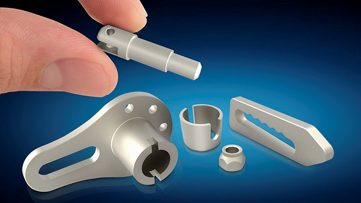 Titanium metal injection molding capabilities