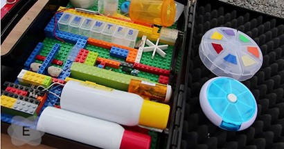 Can you make medical devices out of LEGOs?