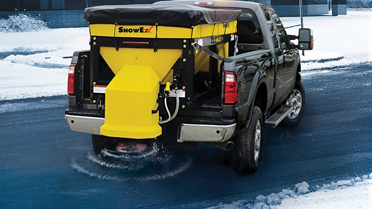 SnowEx Introduces V-Maxx G2 Hopper Spreaders