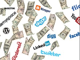 The dollars and cents of social media