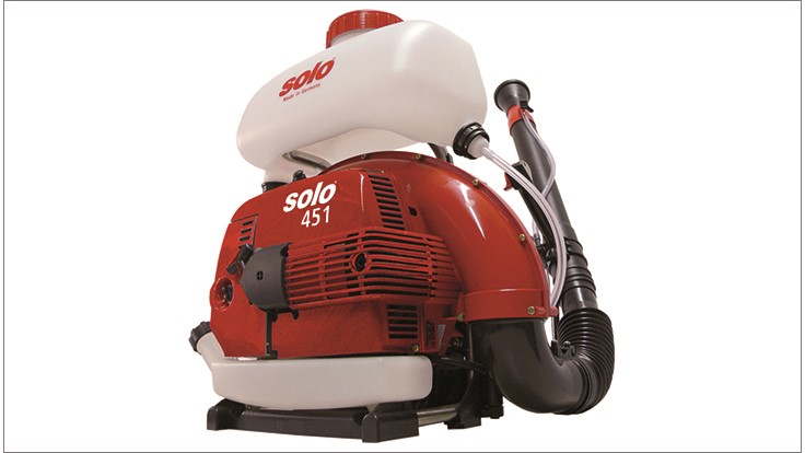 Solo Offers 451 Mist Blower for Mosquito Control