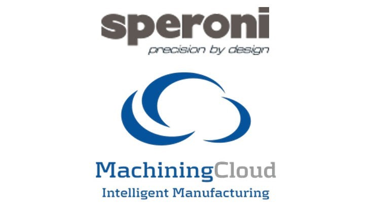 Speroni interface available on the MachiningCloud