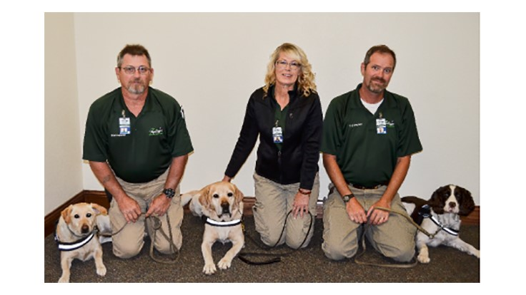 Springer Canine Teams Receive NESDECA Bed Bug Certification
