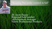 Keeping Poa under control in fall