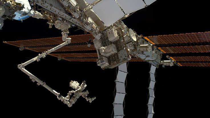 NASA recognizes MDA for robotic servicing of ISS