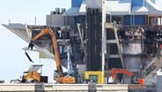 Florida demolition firm dismantles inverted pyramid at St. Petersburg pier