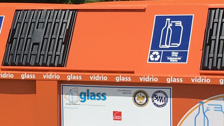 Strategic Materials to handle glass recycling in Houston