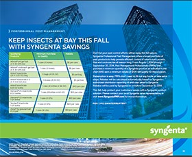 Syngenta Announces 2014 Fall Savings Program