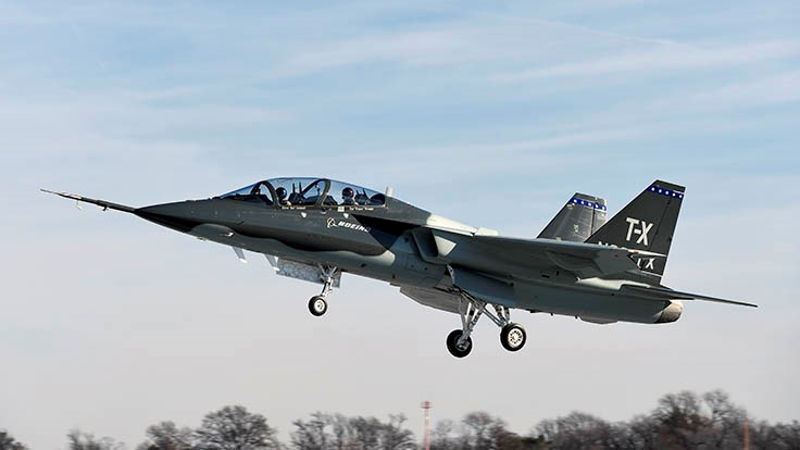 Boeing T-X completes first flight