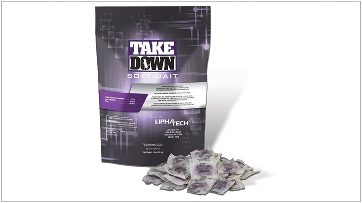 Liphatech Introduces TakeDown Soft Bait