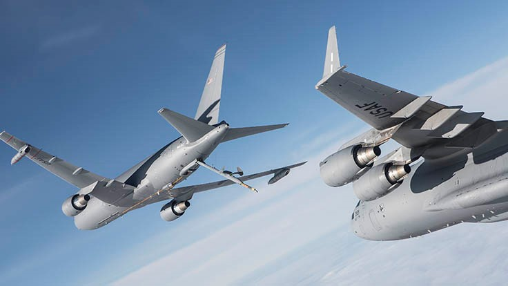 Boeing awarded $2.1B for third KC-46A tanker production lot