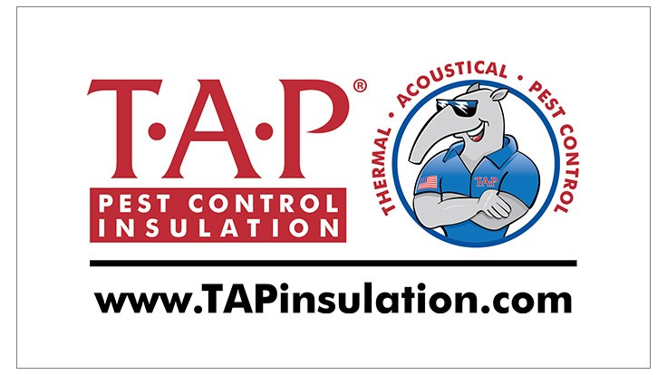 TAP Pest Control Insulation Earns New Distinction