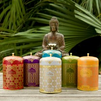 Soyveda candle and home decor collection