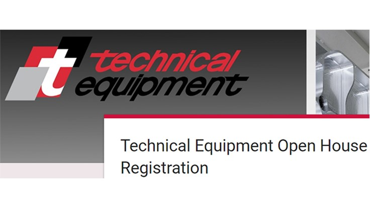 Technical Equipment's machine tool open house