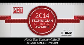 2014 PCT Technician of the Year Awards Nominations Being Accepted Until July 18