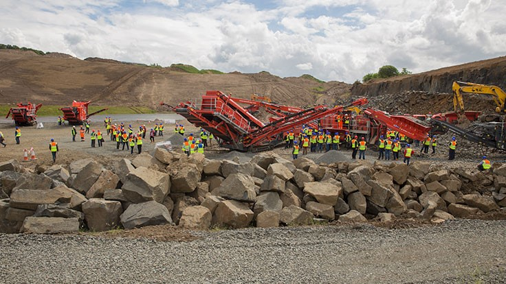Terex Finlay hosts international open day in Scotland