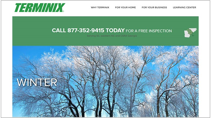 Terminix Service Offers Four Keys to Controlling Winter