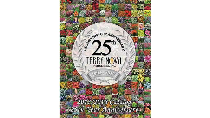 Terra Nova Nurseries releases new 2017-18 digital/print product catalog