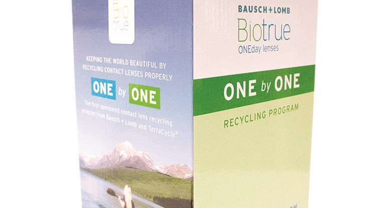 ba3ad1c5e4997 Bausch + Lomb recycling program reaches milestone - Recycling Today