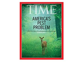 America's Wildlife Problems a Recent Time Magazine Cover Story