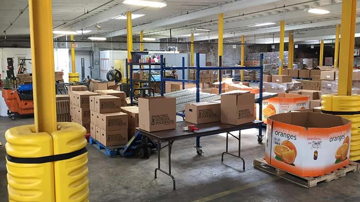 Toyota West Virginia applies manufacturing techniques to food bank