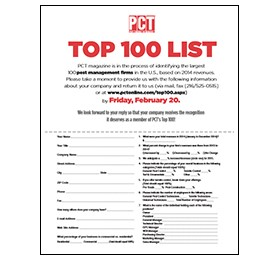 Get Listed in PCT's Top 100!