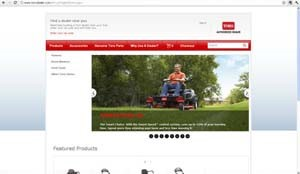 Toro offers personalized online service