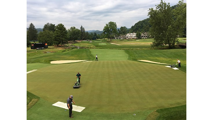 Slideshow: The Greenbrier Classic preparations
