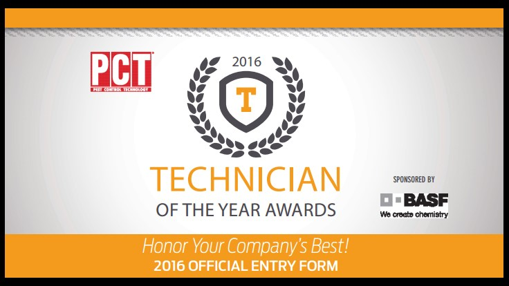 Reminder: Nominate a 2016 Technician of the Year