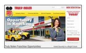 Truly Nolen Franchise Launches New Website