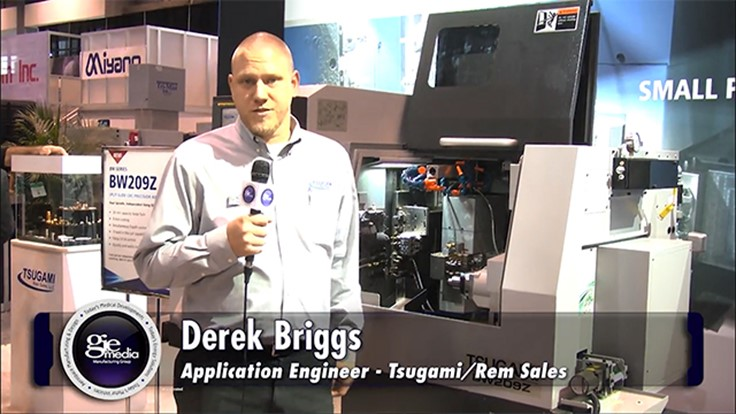 IMTS Booth Tour 2016: Tsugami/Rem Sales [VIDEO]