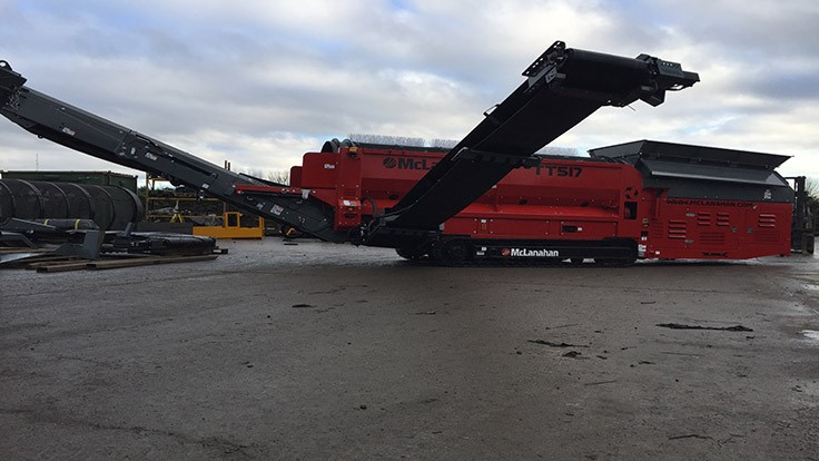McLanahan introduces track trommel
