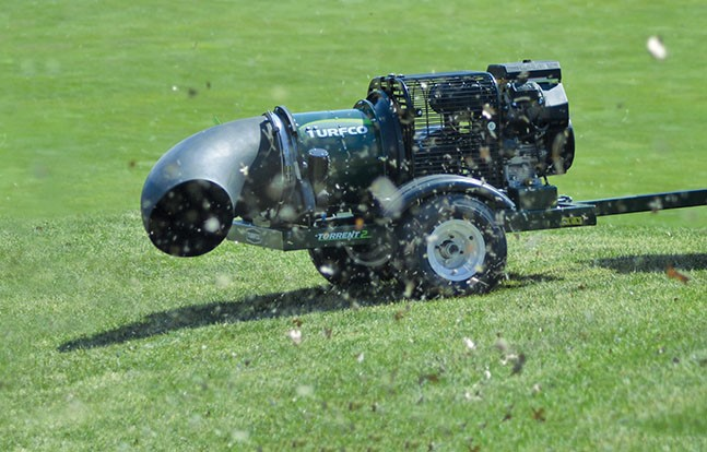 Turfco looks at relationship between blower angles and productivity