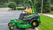 John Deere mowers to feature Michelin X Tweel Turf