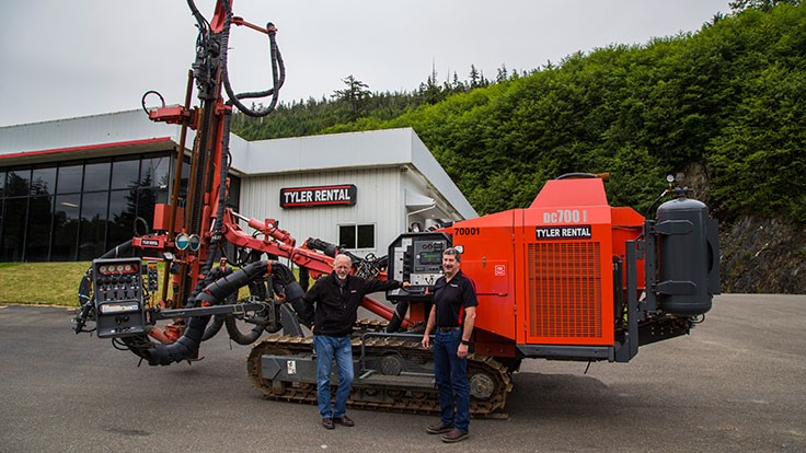 Tyler Rental Inc. becomes Sandvik distributor