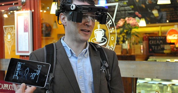 Smart glasses for people with poor vision