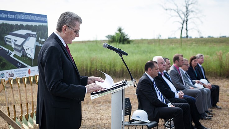 United Grinding breaks ground for new facility