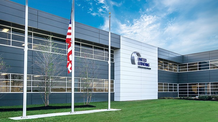 United Grinding opens new North American HQ in Ohio