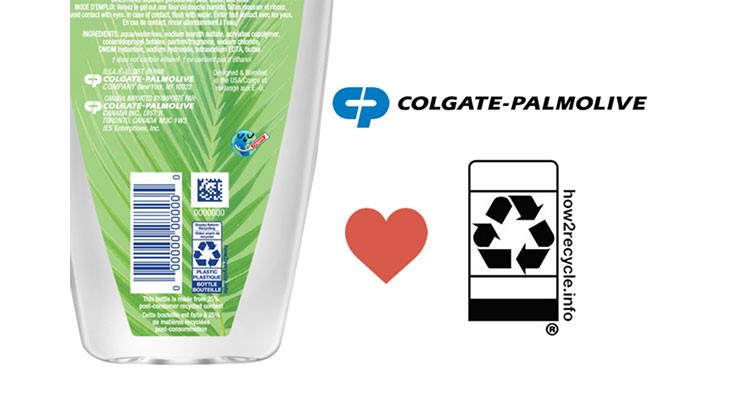 Colgate-Palmolive adds How2Recycle Label to its packaging