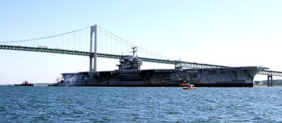 All Star Metals Receives Contract to Dismantle Aircraft Carrier