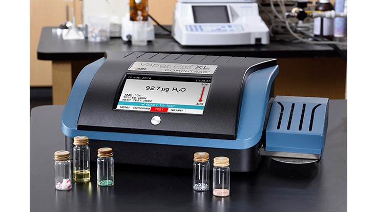 Arizona Instrument Introduces Computrac Vapor Pro XL Moisture Analyzer