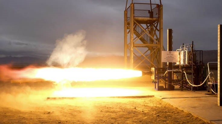 Vector Space Systems tests engine with 3D printed injector