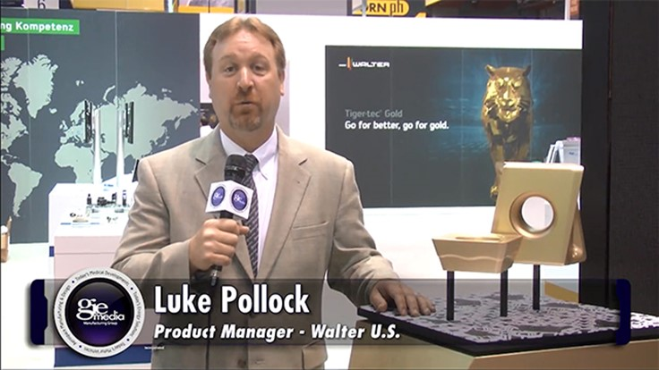IMTS Booth Tour 2016: Walter USA [VIDEO]