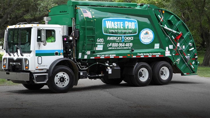 Waste Pro increases service footprint by 33,000 customers