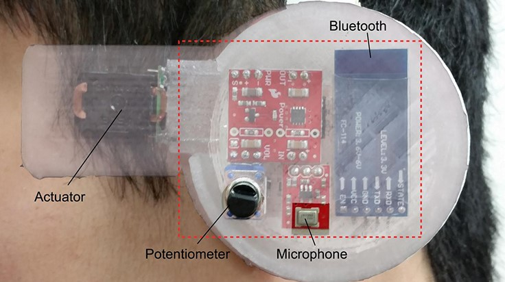 Personalized 'earable' sensor
