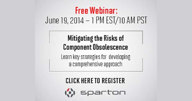 Free webinar June 19: Mitigating the Risks of Component Obsolescence