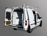 Van storage for Ford Transit Connect